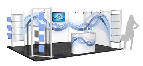 shell scheme exhibition stand