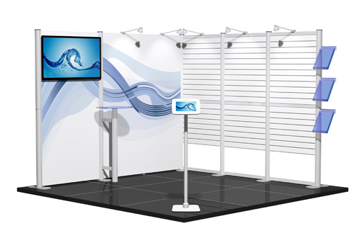 display for exhibitions